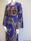 1970's Psychadelic Paisley Print vintage dress **SOLD**